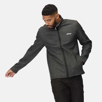 Men's Cera V Softshell Walking Jacket Black Marl