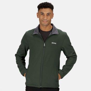 Men's Cera V Softshell Walking Jacket Deep Forest