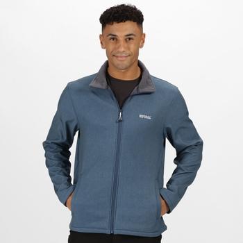 Men's Cera V Softshell Walking Jacket Dark Denim Marl