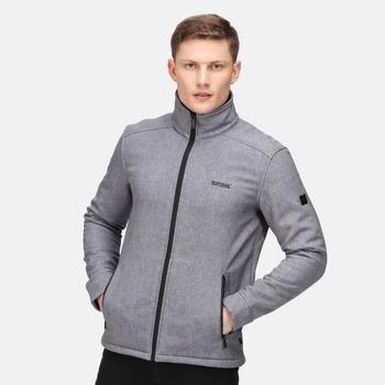 Men's Caelum Softshell Jacket Rhino Marl Black