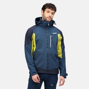 Men's Hewitts VII Softshell Jacket Moonlight Denim Navy