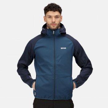 Men's Arec III Softshell Jacket Moonlight Denim Navy