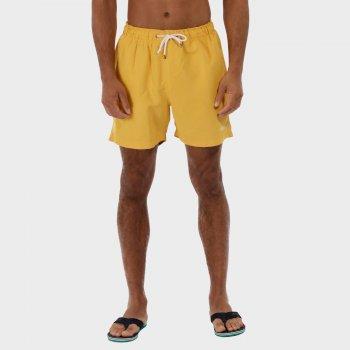 Mawson Swim Shorts Old Gold