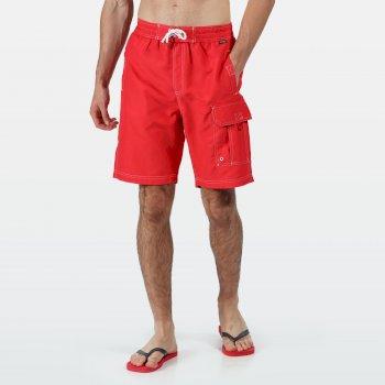 Men's Hotham III Swim Shorts True Red
