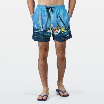 Men's Mawson II Swim Shorts Yacht Photographic Print