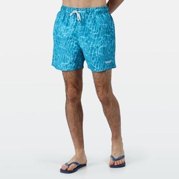 Men's Mawson II Swim Shorts Sea Photographic Print