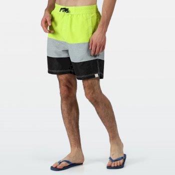 Men's Bratchmar VI Swim Shorts Electric Lime White