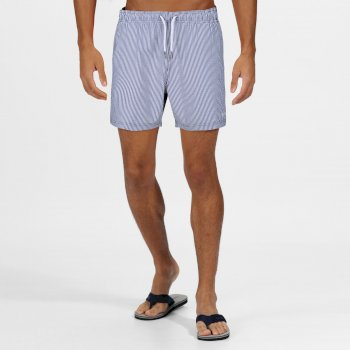 Men's Loras Swim Shorts Nautical Blue