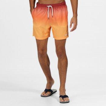 Męskie spodenki do pływania Loras pomarańczowe