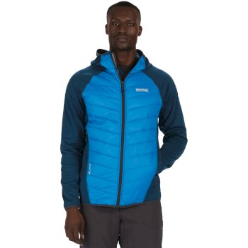 Men's Andreson II Hybrid Stretch Lightweight Insulated Jacket Majolica Petrol Blue