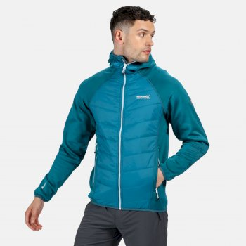 Men's Andreson IV Lightweight Insulated Hybrid Jacket Gulfstream Olympic Teal
