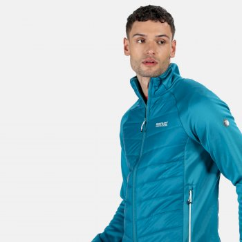 Men's Bestla Hybrid Lightweight Insulated Jacket Olympic Teal Gulfstream