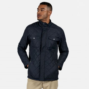Men's Lleyton Quilted Insulated Jacket Navy