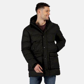 Męska kurtka zimowa Ardal czarna