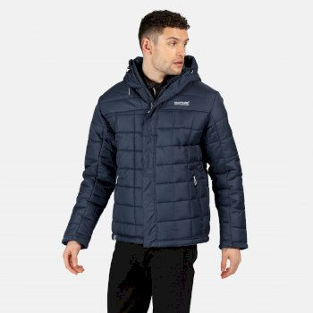 Men's Nevado IV Insulated Quilted Hooded Walking Jacket Nightfall Navy