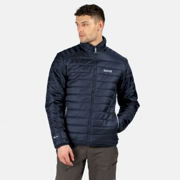 Men's Freezeway II Insulated Quilted Walking Jacket Nightfall Navy
