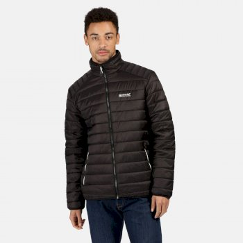 Men's Freezeway II Insulated Quilted Walking Jacket Black