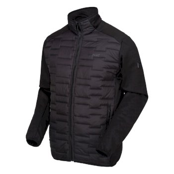 Men's Clumber Hybrid Insulated Quilted Walking Jacket Black