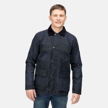 Men's Country Wax Jacket Navy