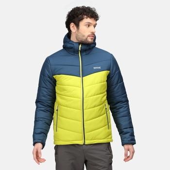 Men's Nevado V Insulated Jacket Dark Tang Moonlight Denim