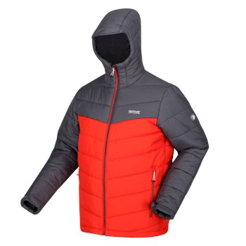 Men's Nevado V Insulated Jacket Cajun Orange Rhino