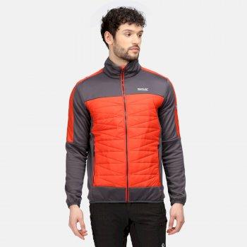 Men's Clumber II Hybrid Insulated Jacket Rhino Cajun Orange