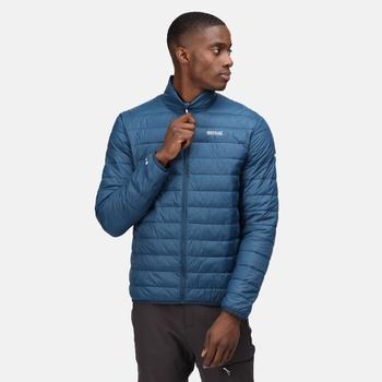 Men's Hillpack Insulated Quilted Jacket Moonlight Denim