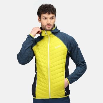 Men's Andreson VI Hybrid Insulated Quilted Jacket Dark Tang Moonlight Denim