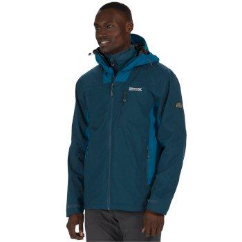 Wentwood II Breathable Waterproof 3-in-1 Stretch Jacket Majolica Petrol Blue