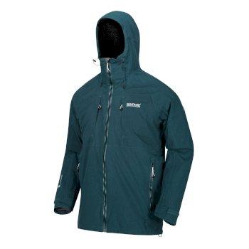 Men's Glyder V Waterproof 3 in 1 Jacket Deep Teal Magnet Grey