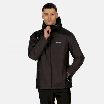 Men's Thornridge II Waterproof Insulated Walking Jacket Ash Black