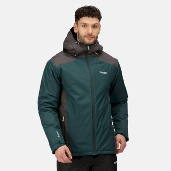 Men's Thornridge II Waterproof Insulated Walking Jacket Deep Pine Ash