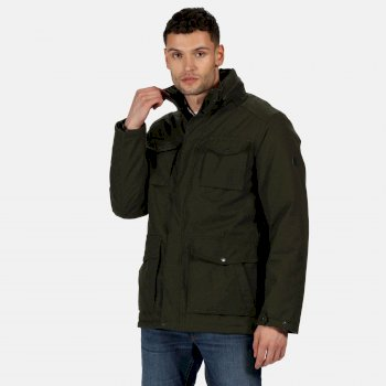 Men's Eneko Waterproof Insulated Jacket Dark Khaki