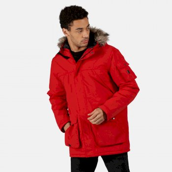 Męska kurtka zimowa Salinger II czerwona