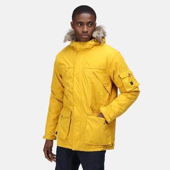 Men's Salinger II Waterproof Insulated Parka Jacket Mustard Seed