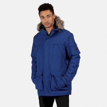 Męska kurtka zimowa Salinger II niebieska