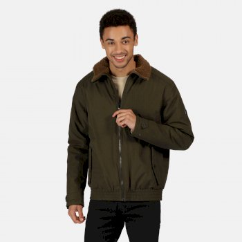 Men's Rayan Waterproof Insulated Jacket Dark Khaki