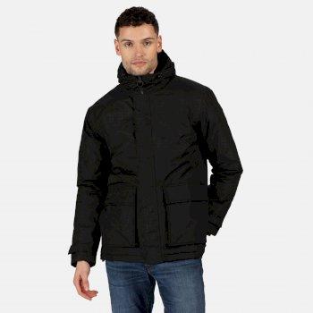 Men's Sterlings II Waterproof Insulated Hooded Jacket Black