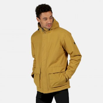 Men's Sterlings II Waterproof Insulated Hooded Jacket Bronze Mist