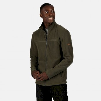 Men's Hallam Waterproof Insulated Jacket Dark Khaki