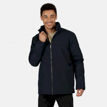 Men's Hallam Waterproof Insulated Jacket Navy
