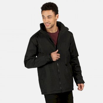 Men's Hallam Waterproof Insulated Jacket Black