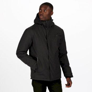Men's Volter Shield II Waterproof Insulated Hooded Heated Walking Jacket Ash