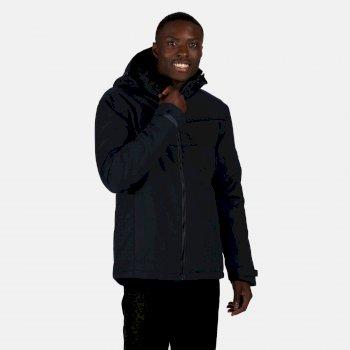 Men's Highside Waterproof Insulated Hooded Walking Jacket Nightfall Navy