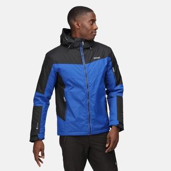 Men's Fincham Waterproof Insulated Jacket Surf Spray Black