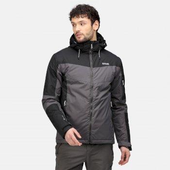Men's Fincham Waterproof Insulated Jacket Rhino Black Ash
