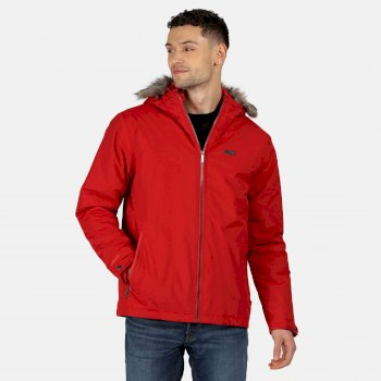 Men's Haig Waterproof Insulated Jacket Classic Red
