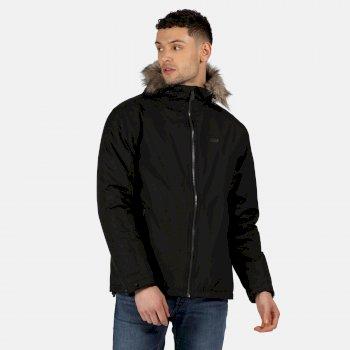 Men's Haig Waterproof Insulated Jacket Black