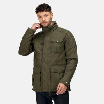 Men's Eastyn Waterproof Insulated Jacket Dark Khaki