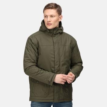 Men's Sterlings III Waterproof Insulated Jacket Dark Khaki
